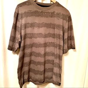 Vans Designer Mens Short Sleeve T-shirt Large